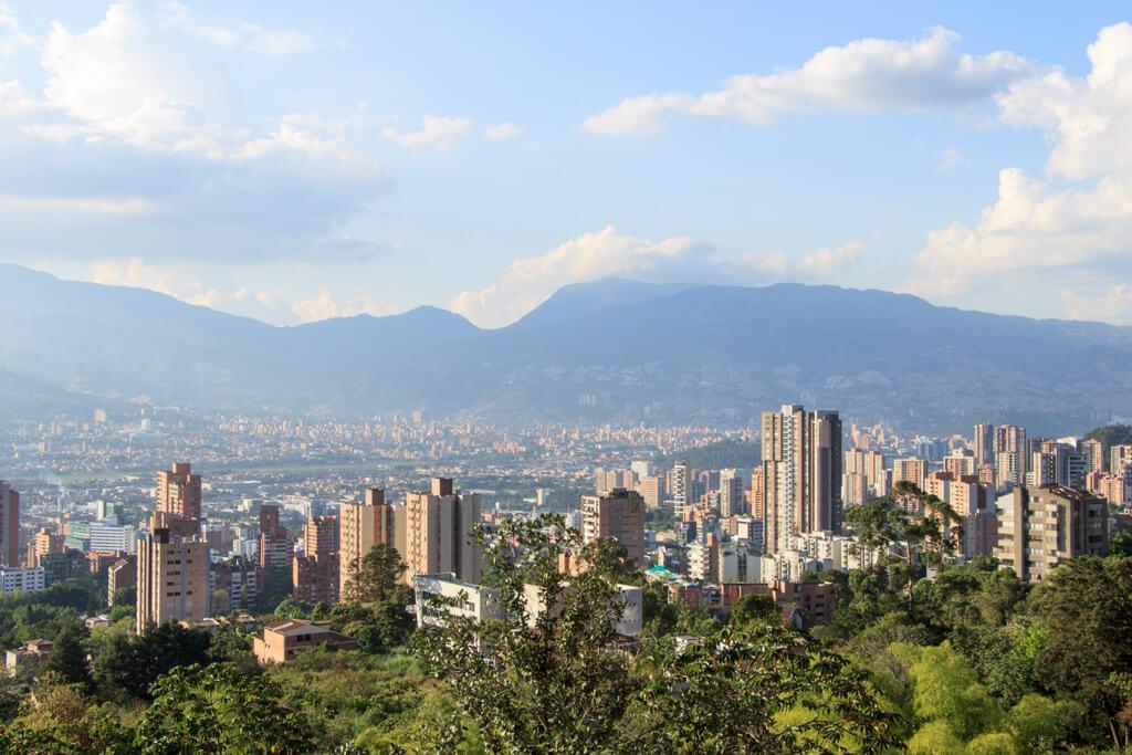 Aussicht Medellin Centro Comercial El Tesoro
