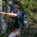 Brustwand Klettersteig für Anfänger geeignet