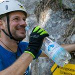 Brustwand Klettersteig mit Gerhard und Gasteiner Mineralwasser