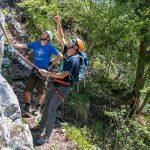 Brustwand Klettersteig Vorbesprechung