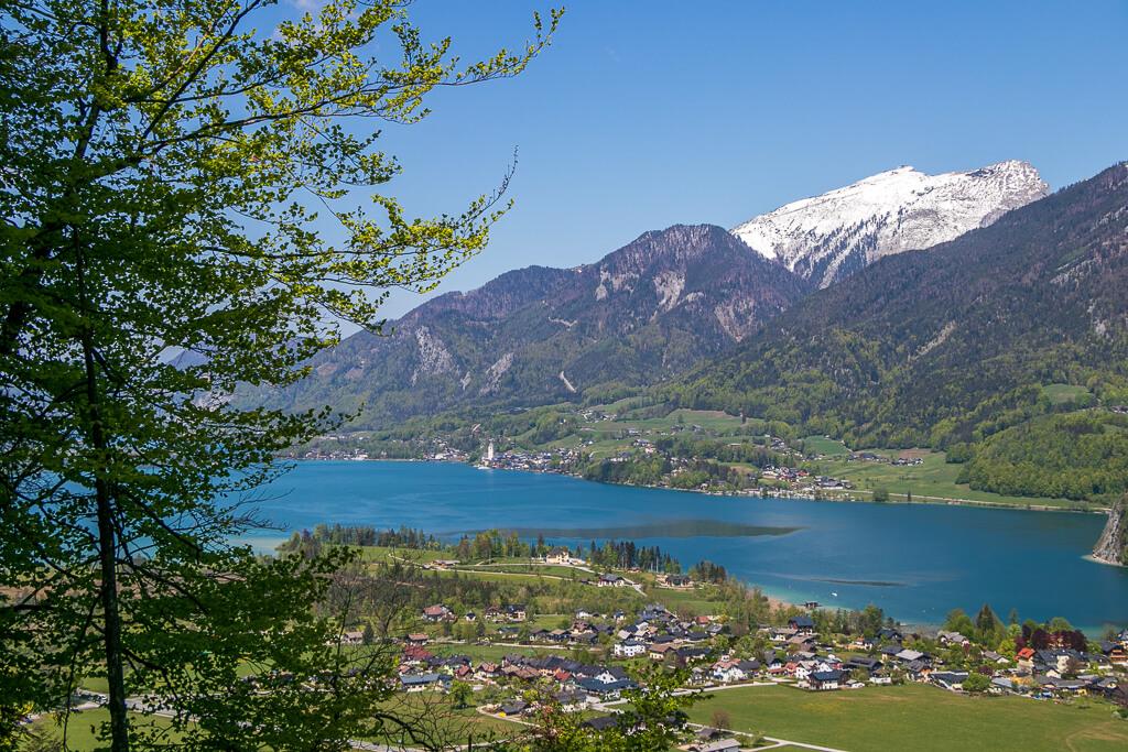 Wolfgangsee im Mai