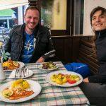 Mittagessen am Almgasthof Kleefeld
