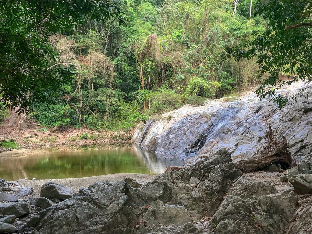 Wasserfall Quebrada Valencia