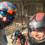 Los gehts zu unserer Motorradtour entlang der Karibikküste