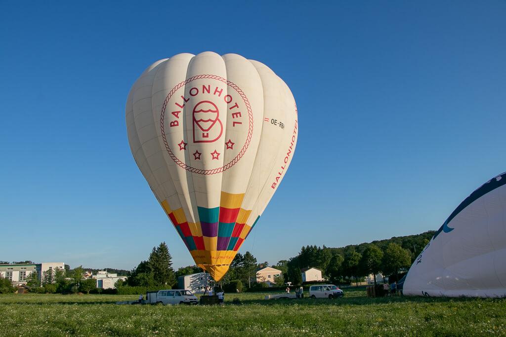 Heißluftballon fahren in Bad Tatzmannsdorf