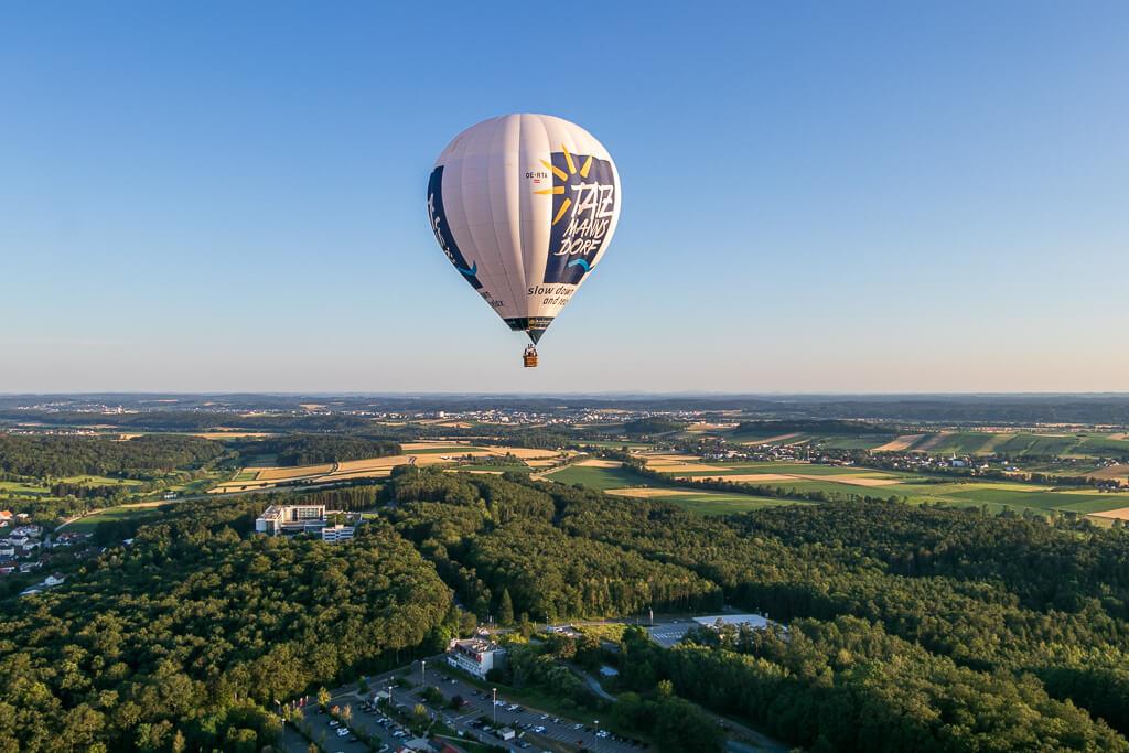 Ballonfahren über Bad Tatzmannsdorf