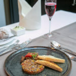 Vegetarisches Tartar als Vorspeise im Avita Resort