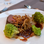 Saftiges Steak als Hauptspeise im Avita Resort Restaurant