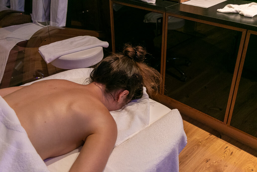 Massage im Avita Premium Spa