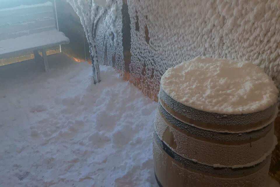 Schneesauna Avita Therme