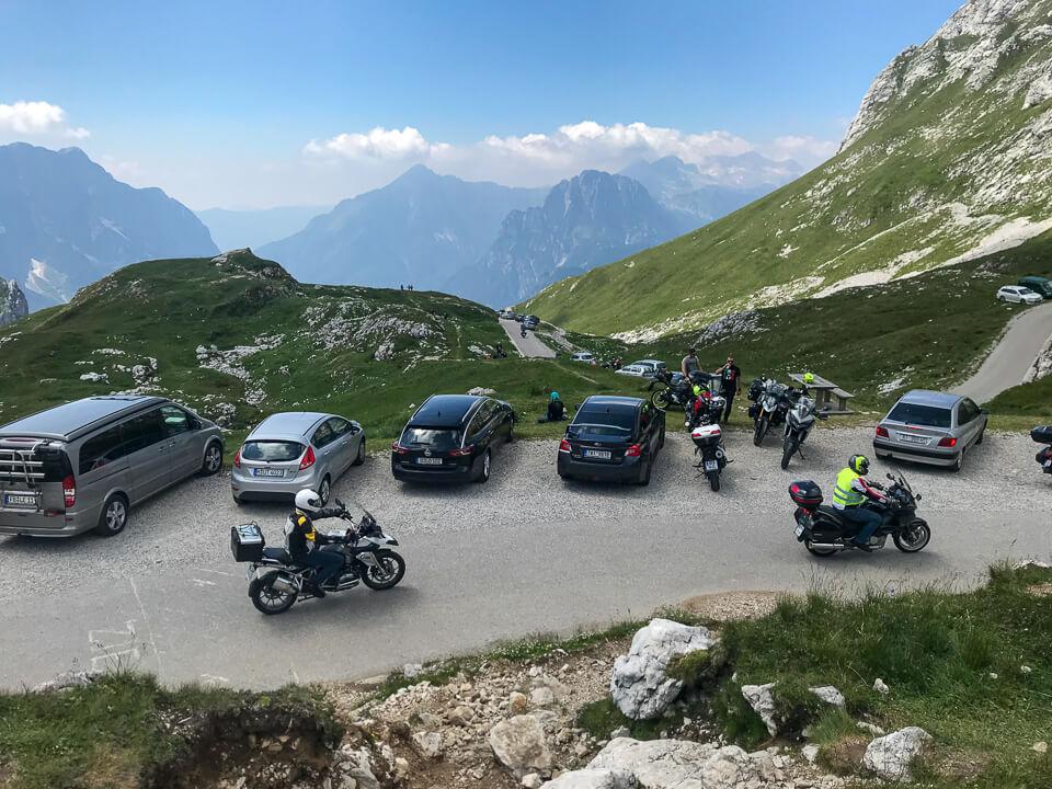 Motorradtour durch Kärnten, Italien und Slowenien