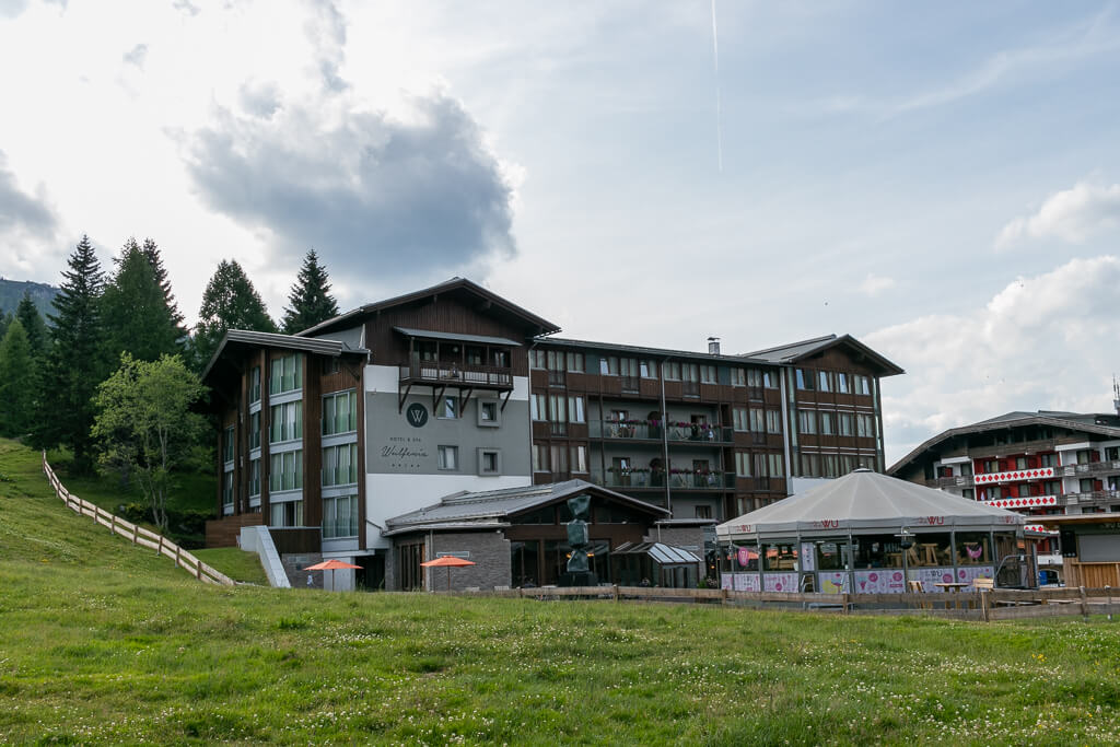 Wulfenia Hotel am Nassfeld für Motorradfahrer super geeignet