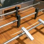 stylischer Tischfußballtisch