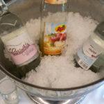 Regionale Getränkeauswahl im Hotel Wulfenia - sowohl am Zimmer als auch am Buffet im Restaurant