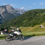 Val Aupa mit dem Motorrad