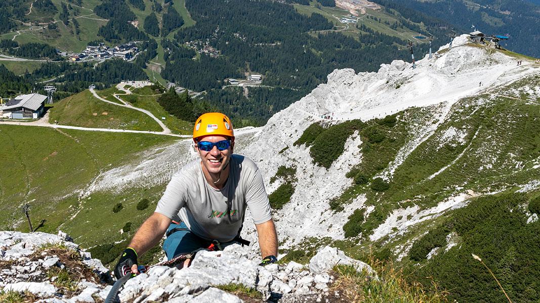 Däumling-Klettersteig Tour in Kärnten