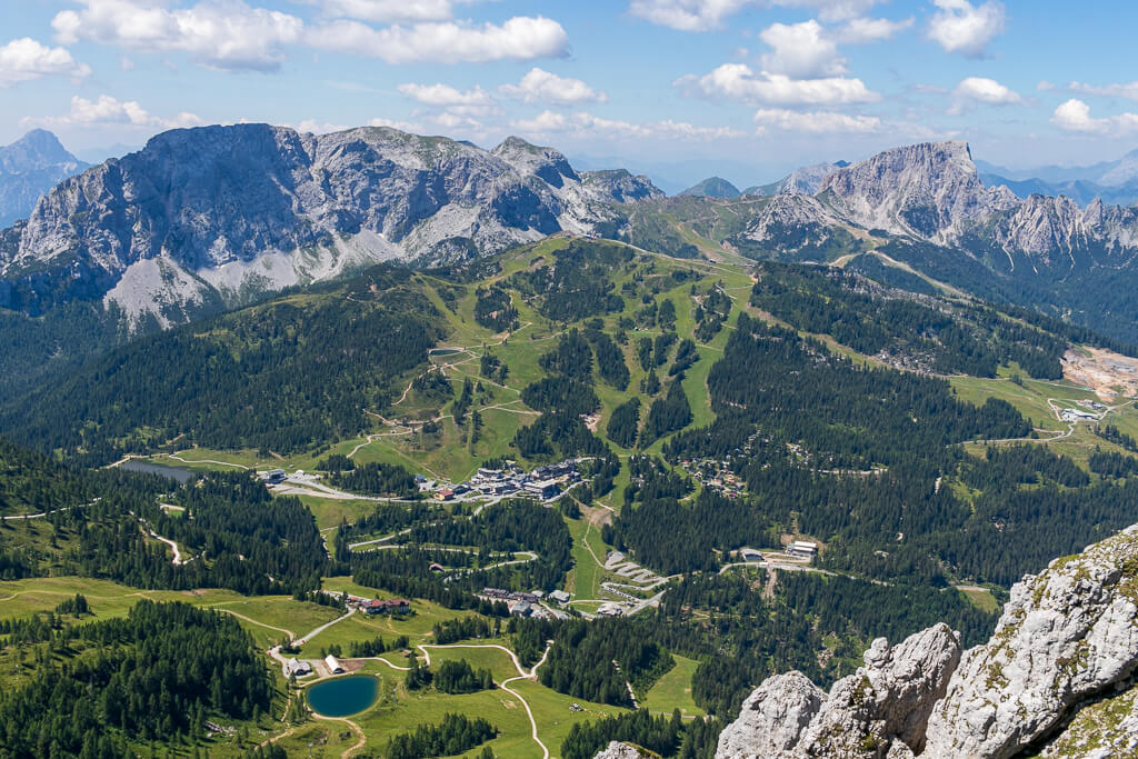 Nassfeld Berge Aktivurlaub im Sommer