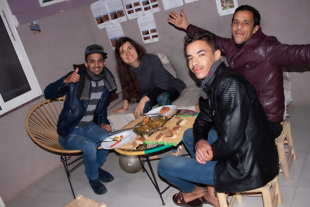 Tajin essen in Marrakesch