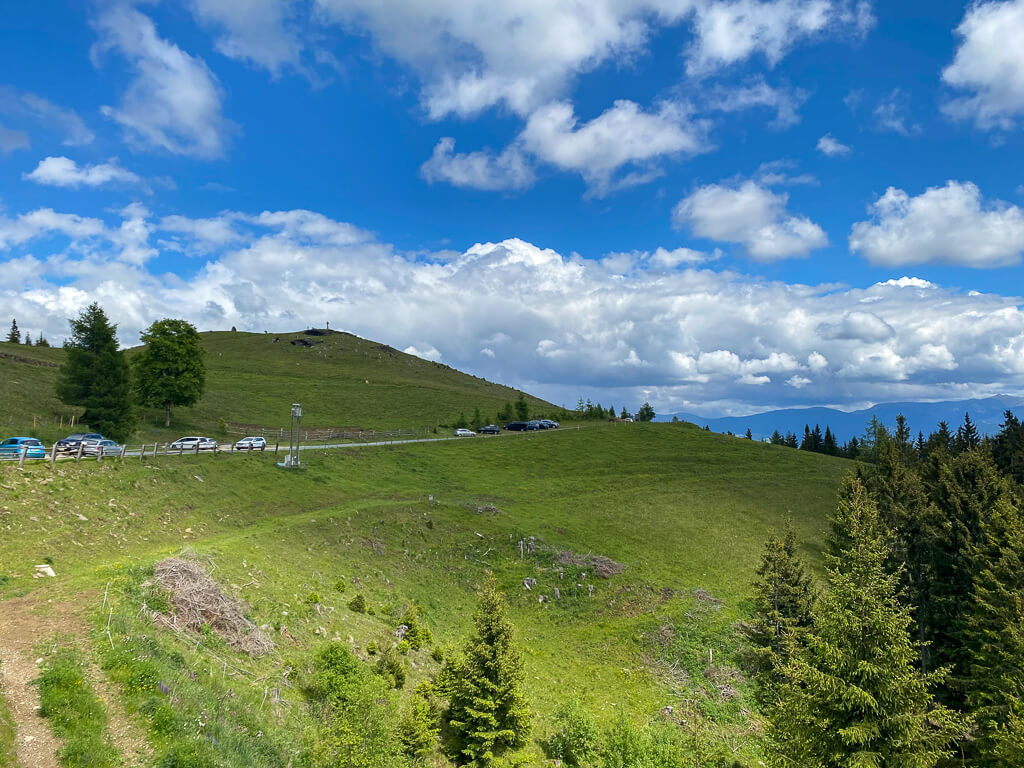 Weg aufs Klippitztörl über die Kogelhütte