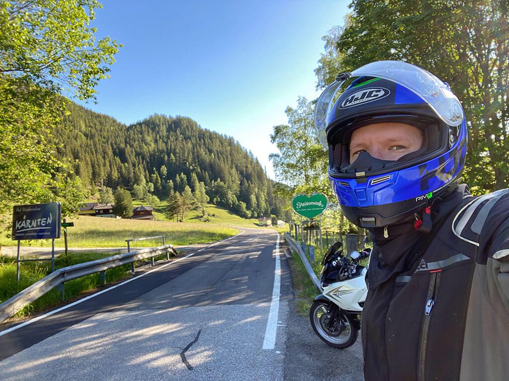 Motorradrunde um den Kreischberg