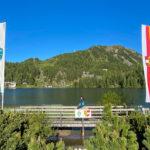 Turrachersee mit Landesgrenze zu Kärnten und Steiermark