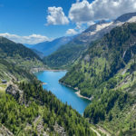Eine faszinierende Berglandschaft auf knapp 2.000m