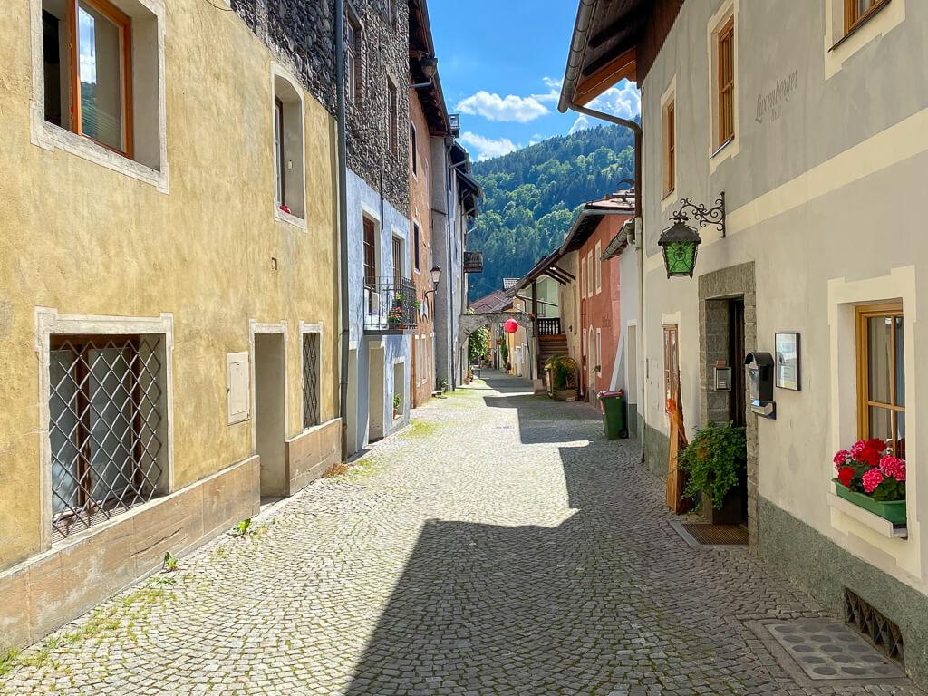 Altstadt und Künstlerviertel in Gmünd in Kärnten