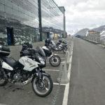 Kaiser-Franz-Josef-Höhe mit dem Motorrad