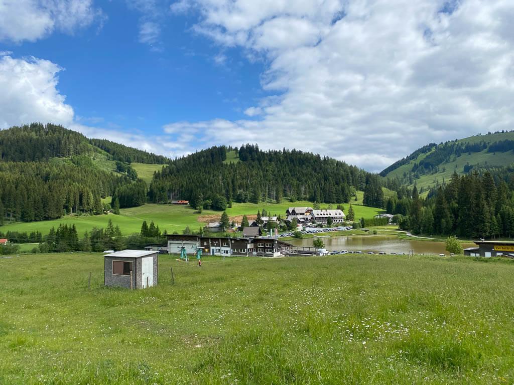 Teichalmsee im Naturpark Almenland