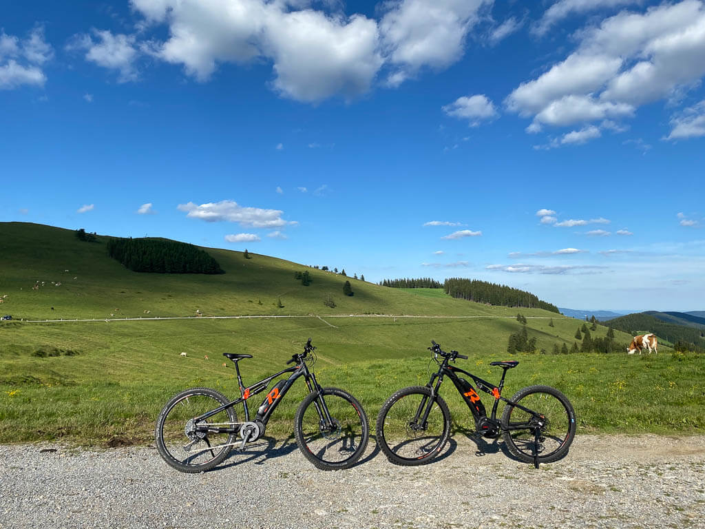 E-Bike Sommeralm im steirischen Almenland