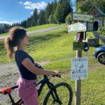 Mit dem E-Bike zur Sommeralm