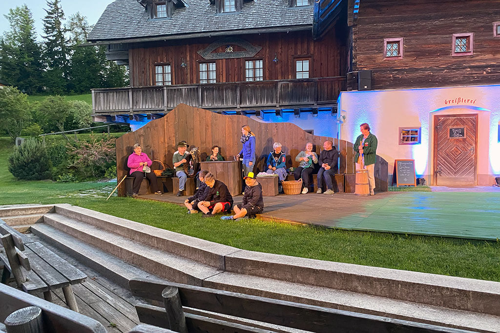 Huabn-Theater Brandlucken