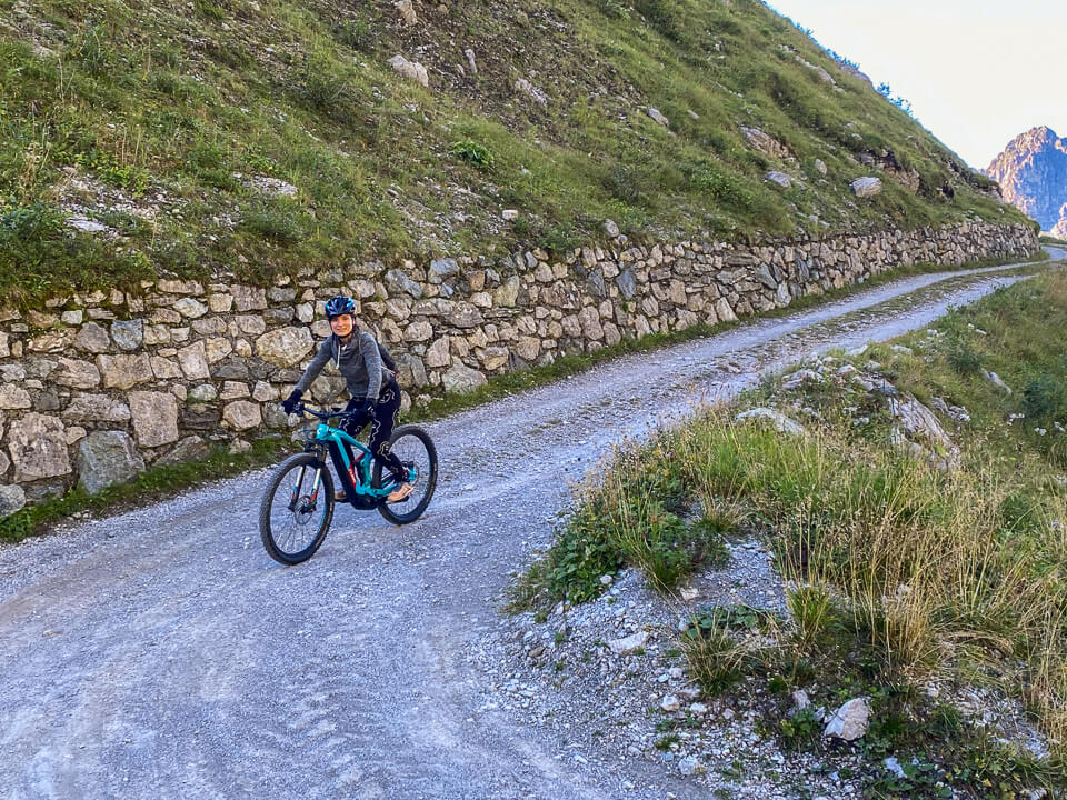 Downhill Mountainbiken im Montafon