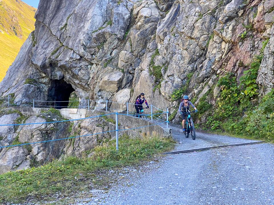 Mountainbiken im Rätikon