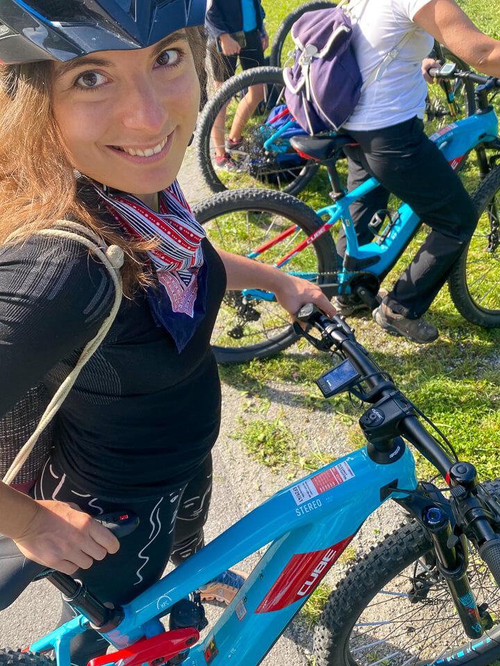 Bike & Hike Tour Start in Schruns