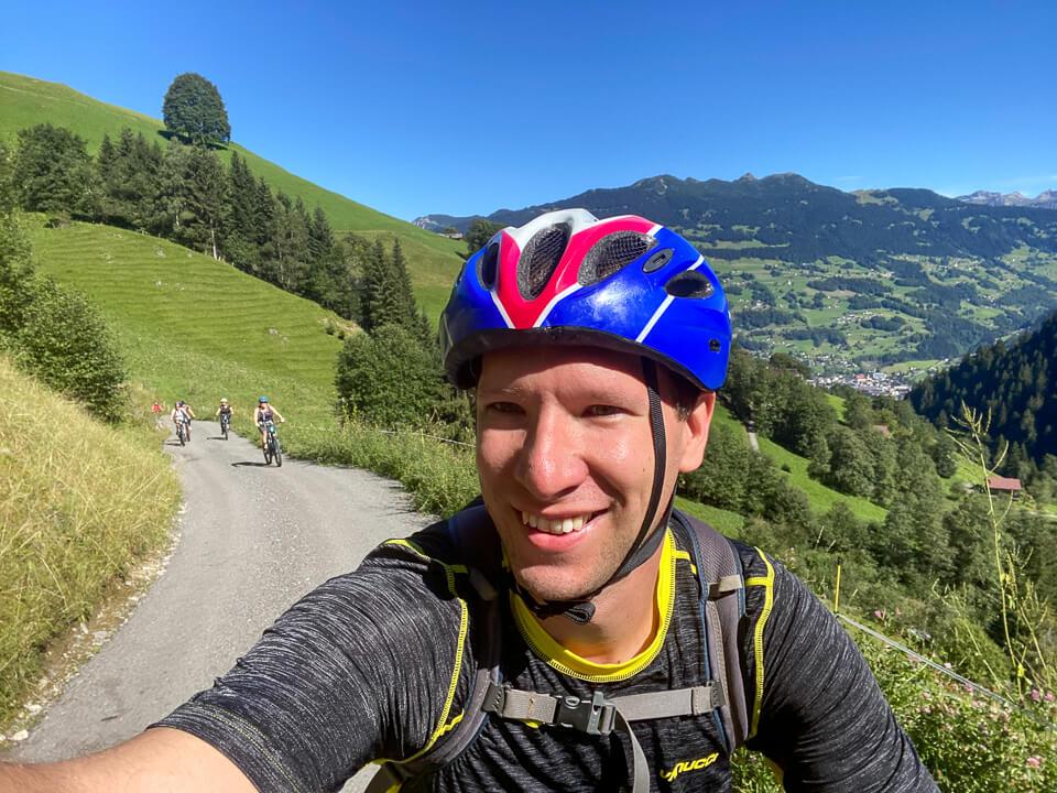 E-Mountainbiken und wandern im Montafon