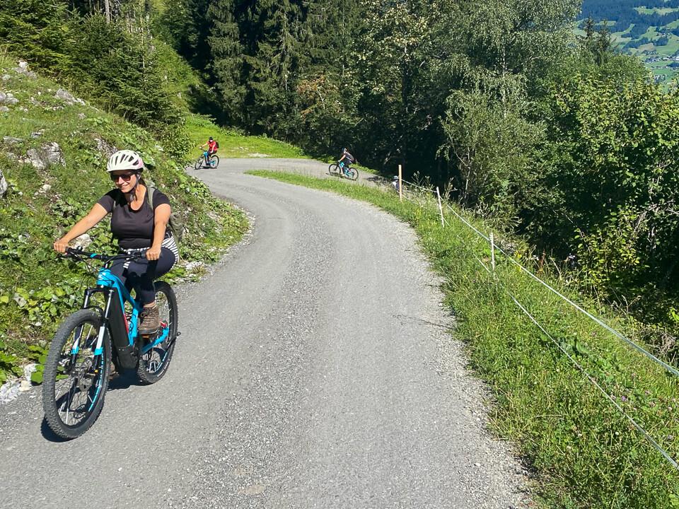 Bike & Hike Tour zur Tilisunaalpe im Montafon mit der Reiseblogger-Truppe