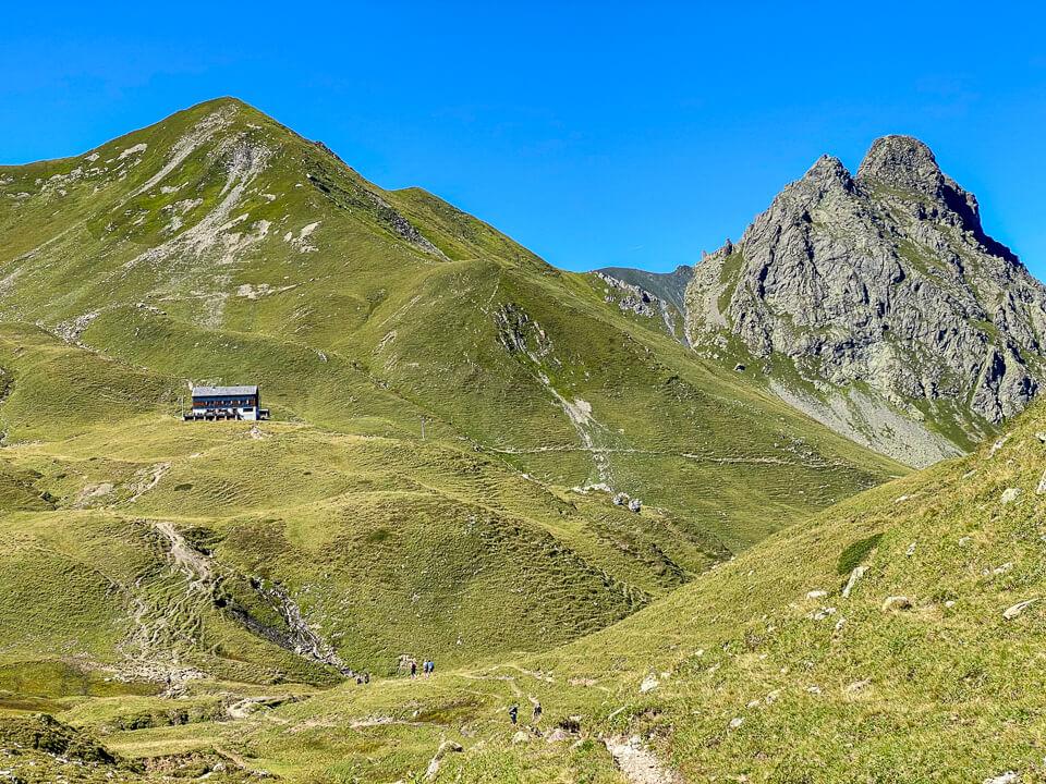 Tilisunahütte im Vorarlberger Montafon