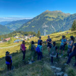 Wanderweg zum Gantakopf oberhalb vom Garfrescha Almdorf