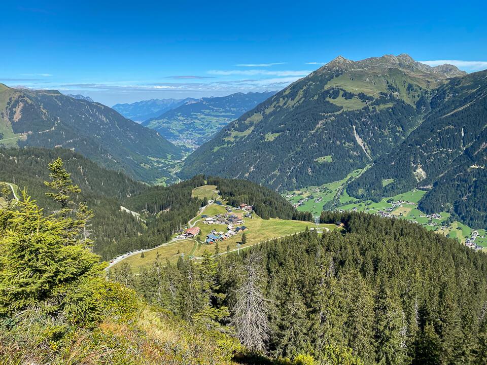 Maisäß-Almdorf Garfrescha im Montafon