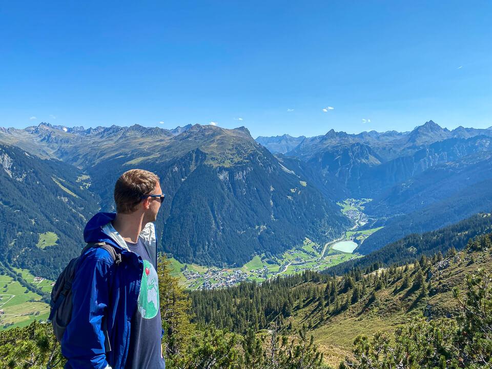Wandern im Montafon - Panoramaweg Gantakopf