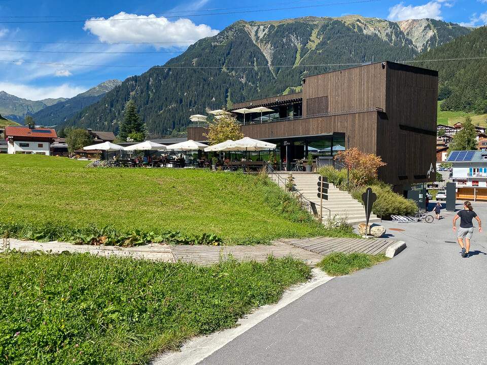 Alte Talstation in Gaschurn