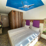Trendiges Hotelzimmer im Explorer Montafon