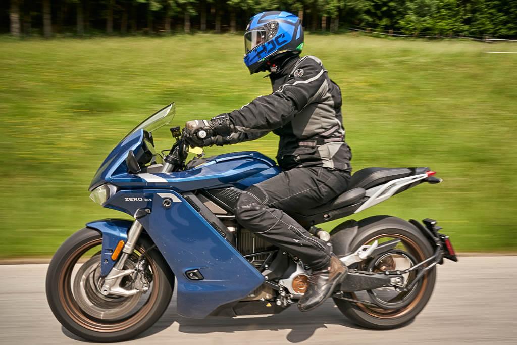 Zero SR/S Touren-Bike
