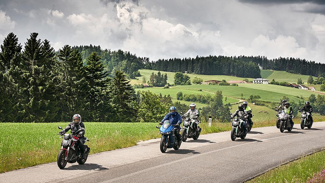 Zero E-Camp: Motorradtour durchs Mühlviertel