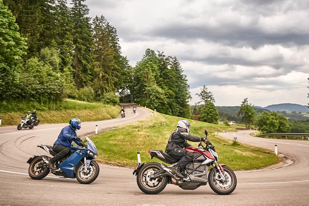 Zero E-Camp Elektro-Motorrad-Tour durch Ober- und Niederösterreich